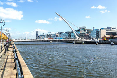 Harp Design, Samuel Beckett Bridge- Dublin, Ireland