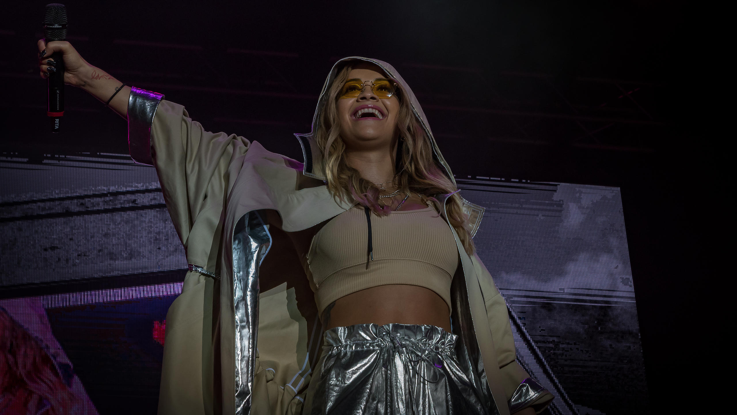 Rita Ora Headlining Saturday Night on the Castle Stage at Victorious Festival 2017