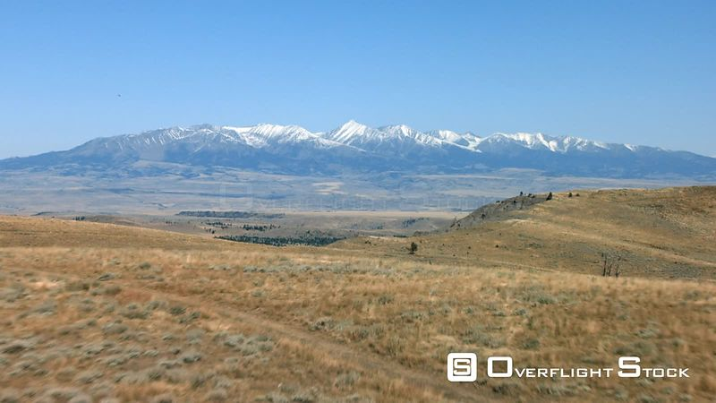 The high desert of southern Montana near Red Lodge and Absarokee sits in the shadow of the Beartooth mountain Range