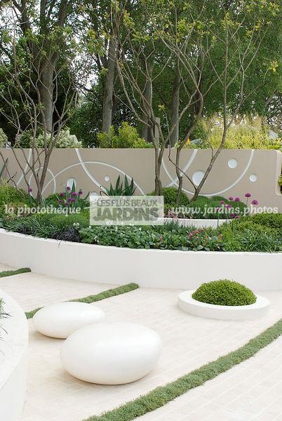 la phototh que les plus beaux jardins jardin contemporain jardin design jardin. Black Bedroom Furniture Sets. Home Design Ideas