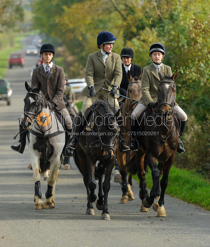 Hermione Brooksbank, Amelia Leeming on Cold Overton Road - The Cottesmore at Langham.