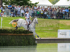 Virginie Caulier and Nepal du Sudre, LOCOG Greenwich Park Olympic Test Event, July 2011