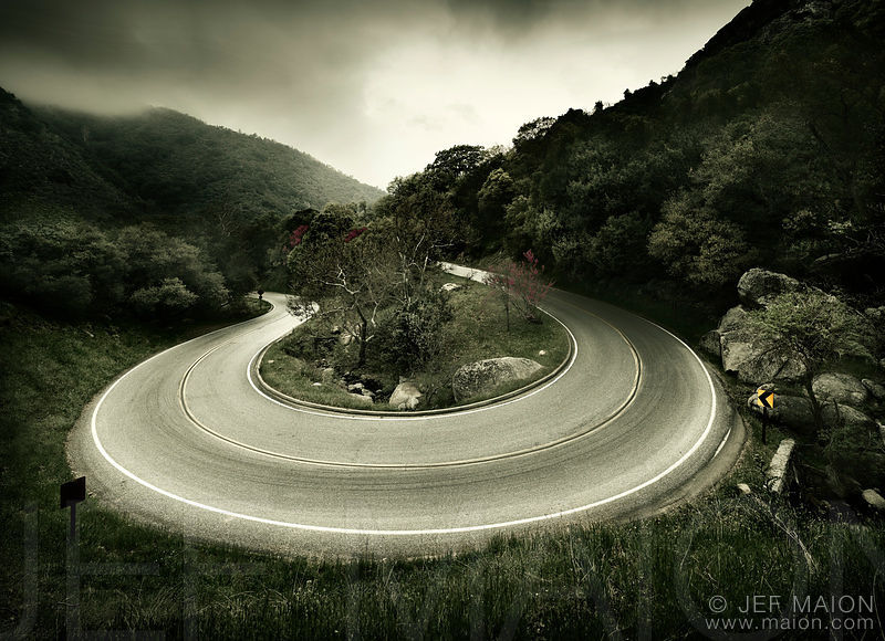 Hairpin road