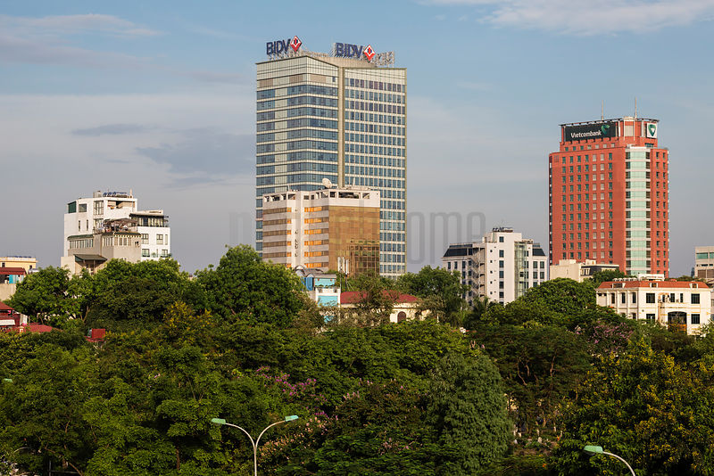 Businesses in Central Hanoi