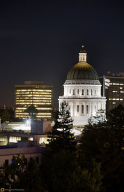 The State Capitol Building at Night #3