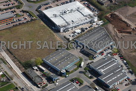 Manchester aerial photographs of Ringway Trading Estate Mollington Road Shadowmoss Road Wythenshaw