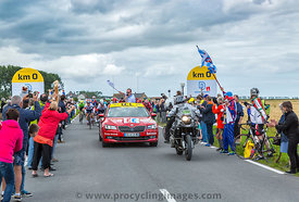 The Start of Tour de France 2016
