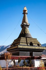 Temple at Samye monastery, Tibet, China