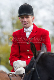 Joss Hanbury MFH - The Quorn Hunt at John O' Gaunt 9/11/12