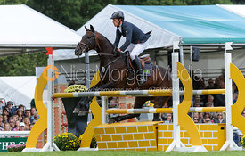 Kai Ruder and LEPRINCE DES BOIS - show jumping phase, Burghley Horse Trials 2013.