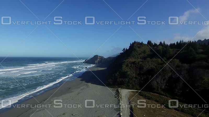 California Beach at Redwood National Park