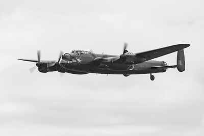 "Lancaster PA474 as AR-L ""Leader"" BW version"