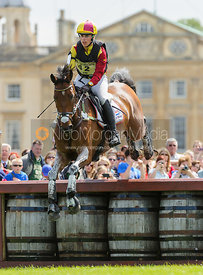 Merel Blom and RUMOUR HAS IT - Cross Country - Mitsubishi Motors Badminton Horse Trials 2013.