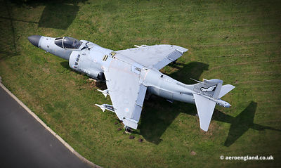 Royal Navy Sea Harrier ZE691