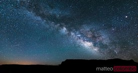 Milky way in the sky, United States
