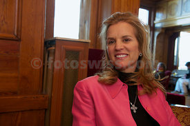 St.Moritz Award 2010 Kerry Kennedy, Robert F. Kennedy Foundation & Fondazione Milan - A.C. Milan - Press Conference.