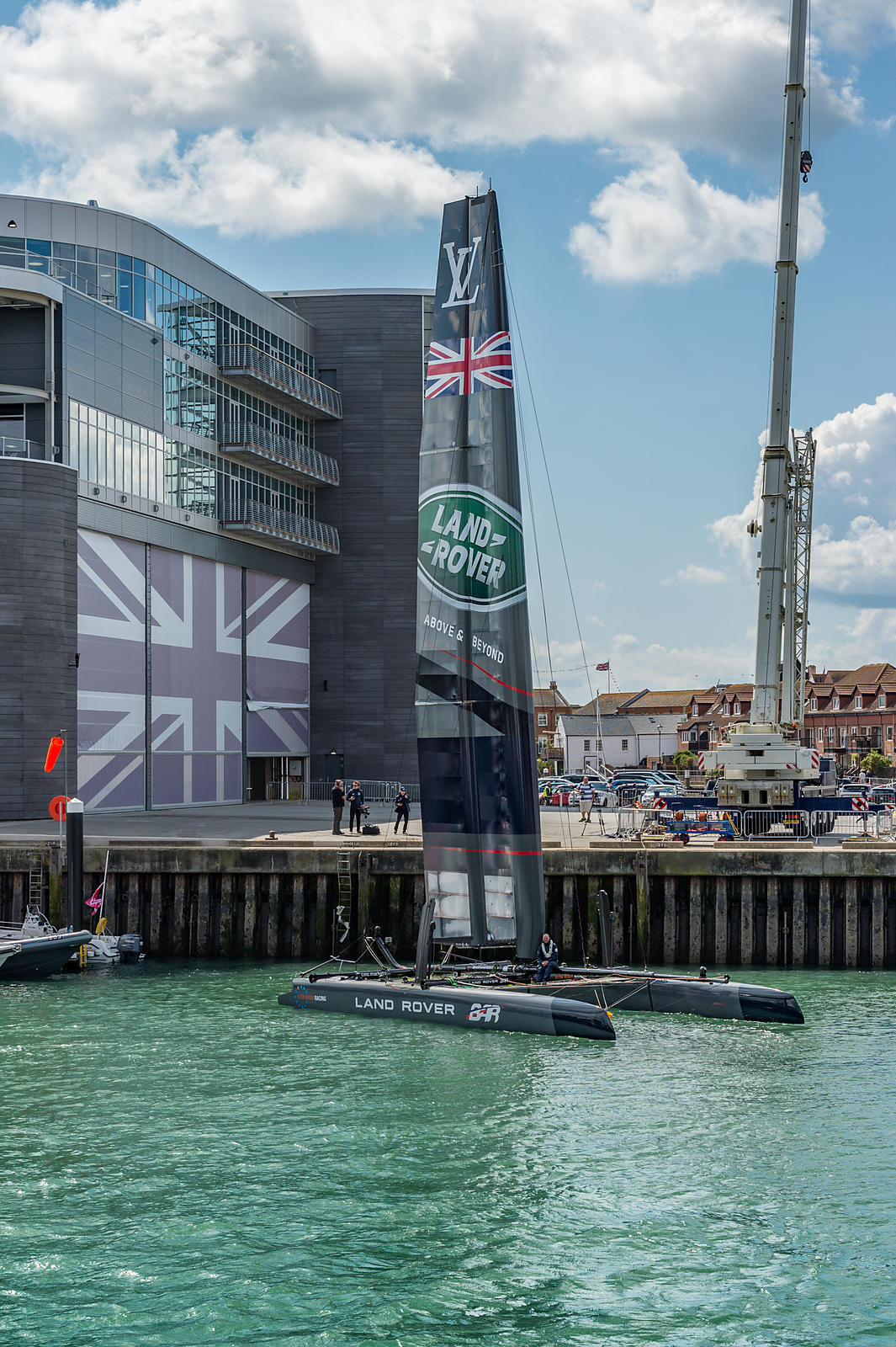 Team Land Rover UK at Portsmouth America's Cup 2015