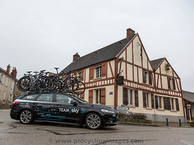 Technical Car of Team Sky - Paris-Nice 2018