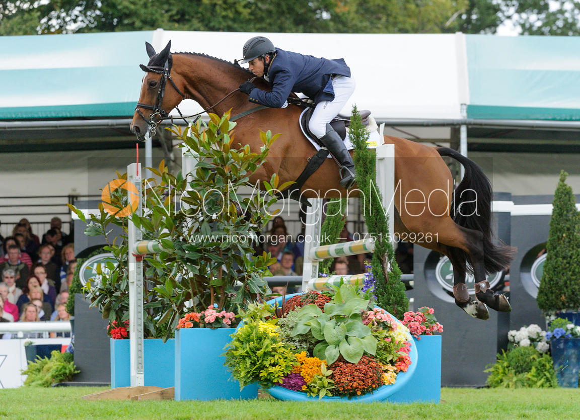 Sam Griffiths and PAULANK BROCKAGH - show jumping phase, Burghley Horse Trials 2013.