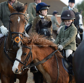 at the meet - The Cottesmore Hunt at the kennels 21/10