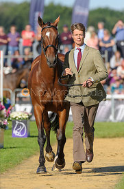 William Fox-Pitt and PARKLANE HAWK - The final trot up, Burghley Horse Trials 2013.