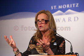 St.Moritz Award 2010 Ceremony Kerry Kennedy, Robert F. Kennedy Foundation & Fondazione Milan - A.C. Milan - Press Conference.