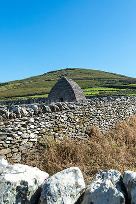 Gallarus Oratory (Vertical)- Near Smerwyck Harbor, Dingle Peninsula, Ireland