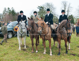 Followers at the meet in Belton-in-Rutland