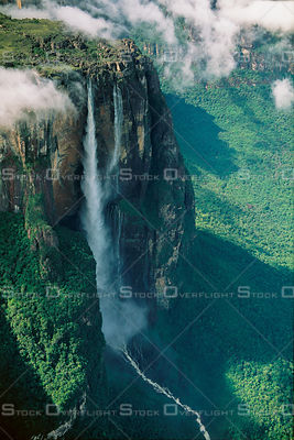 Salto Angel Highest Waterfall in World  Canaima National Park Venezuela
