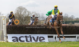 Harriet Walker and Royals Darling, Members Race - The Quorn at Garthorpe 21st April 2013
