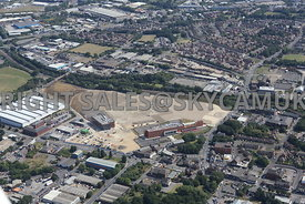Sheffield redevelopment of the Olympic Legacy Park site Attercliffe Common
