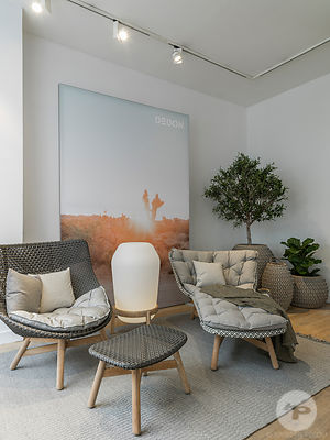 Dedon Exhibition, Silvera University Showroom, Paris, France.