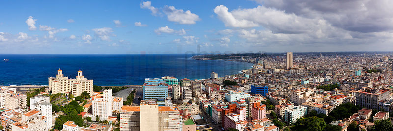 Elevated View of the Havana Skyline