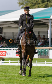 - dressage phase,  Land Rover Burghley Horse Trials, 5th September 2013.