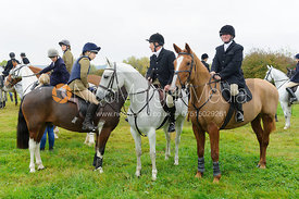 at the meet - Belvoir Hunt Opening Meet 2016.