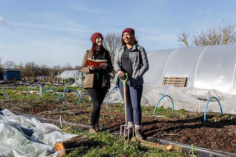 Isabella Coin and Sinead Fenton of Audacious Veg