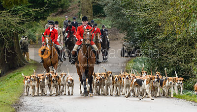 The Belvoir Hunt at Belvoir Castle 10/3 photos