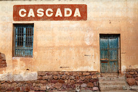 Cascada soft drink distributor shop, Villa Abecia, Chuquisaca Department, Bolivia