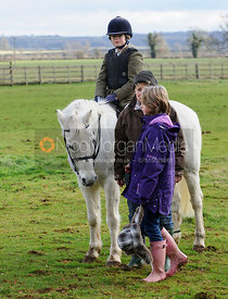 Hunt followers at the meet - The Cottesmore Hunt at Ashwell Grange 9/12