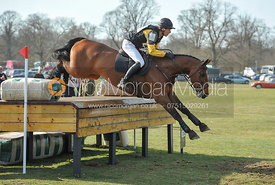 Nick Gauntlett and WILLOWS ACCENT - Belton Horse Trials 2012