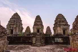 East Mebon temples at sunset, ANgkor Wat, Cambodia