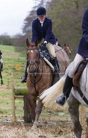 Lulu Fletcher - The Cottesmore Hunt at Northfield Farm 29/1/13