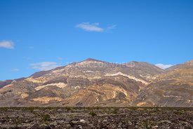 Panamint Mountains in Death Valley National Park, California, USA.