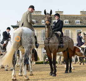 The Cottesmore Hunt at Stapleford 27/2