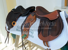 Devoucoux Saddles were among the auction prizes