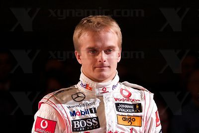 Heikki Kovalainen (FIN), McLaren MP4-23 Launch, Stuttgart, 7th January, 2008