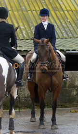 Annabel Burtt - The Cottesmore Hunt at Northfield Farm 29/1/13