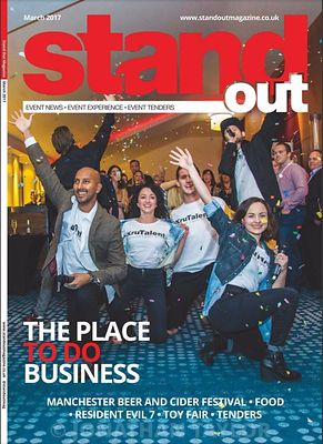 Stand Out magazine - front cover - March 2017