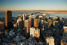 San Francisco California Aerial Photograph