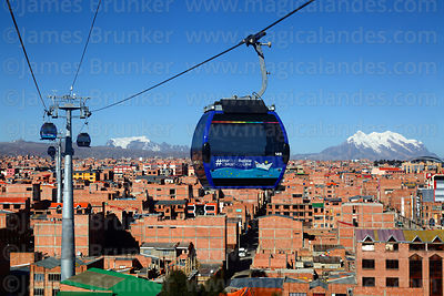 La Paz Cable Cars photographs
